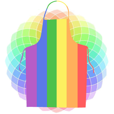Coloured Aprons